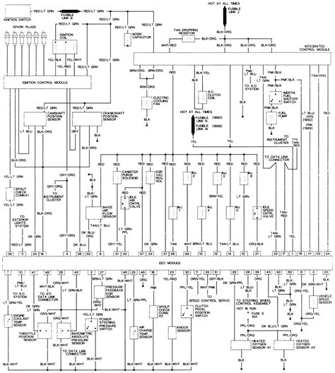 1995 ford taurus wiring diagram wiring diagram and wire diagram 1995 ford taurus