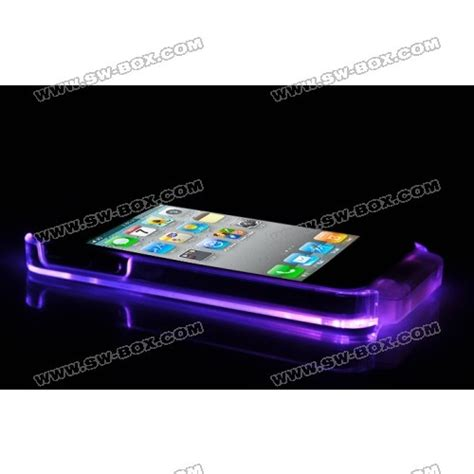 Led Iphone 4s cool led light up for iphone 4s iphone 4 4s