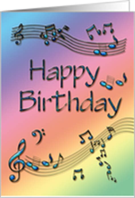 printable birthday cards music birthday cards with musical instruments from greeting card