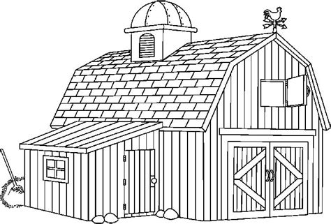 91 barn coloring pages with animals clip art of a free clipart agriculture clipart barn 1 clipartix