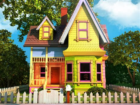 casa di up carl s house from pixar s up balloon weight by
