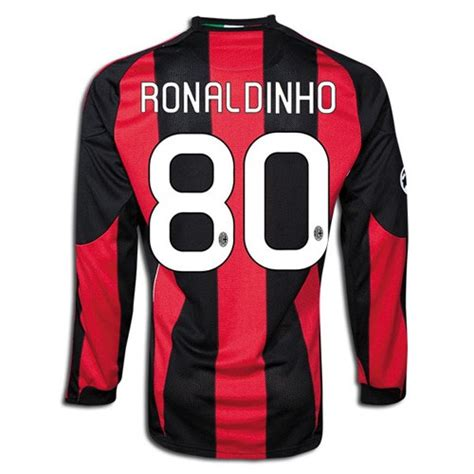 Jersey Bola Ac Miland Home Loong Ls Sleeve Official 17 18 Grade Ori object moved
