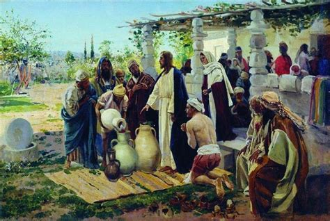 Wedding At Cana Commentary by Biblical Basics About A Homily For The
