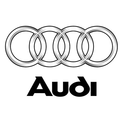 audi logo black and white audi 15 free vector 4vector