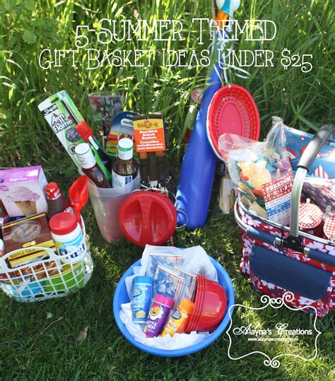 5 summer themed gift basket ideas for under 25 diy home