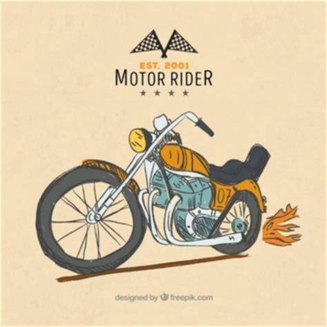 Motorrad Bilder Gemalt by Motorrad Gezeichnet Fahrzeug Der