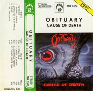 Cause Of Records Obituary Cause Of Encyclopaedia Metallum The Metal Archives