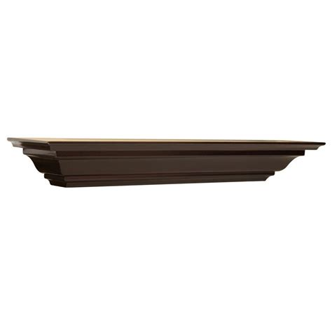 Crown 4 In 1 By Mithashop the magellan 5 1 4 in espresso crown moulding shelf