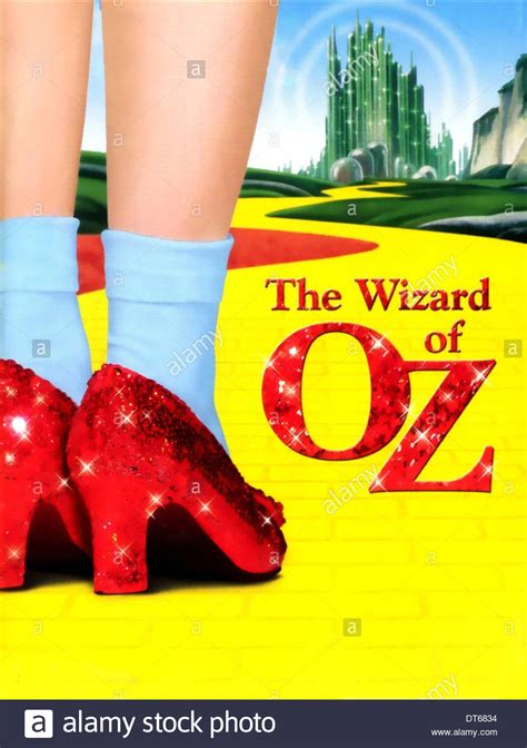 the wizard of oz slippers dorothy s magic shoes poster the wizard of oz 1939 stock