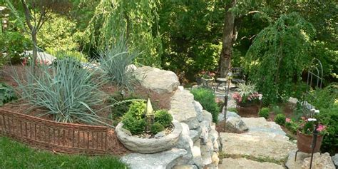 alternative layout for landscape landscaping contractors design mulch stone in