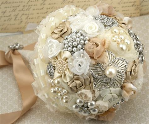vintage bouquets vintage wedding bouquet handmade custom vintage brooch wedding bouquet 798031 weddbook