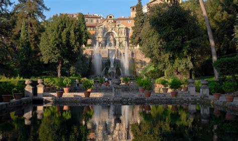 giardini di tivoli roma villa d este a tivoli i giardini pi 249 spettacolari