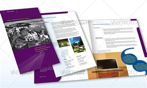 35 premium brochure design template