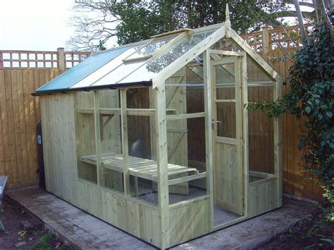 swallow kingfisher  wooden greenhouse wooden