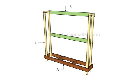 how to build a firewood rack howtospecialist how to build step by step diy plans