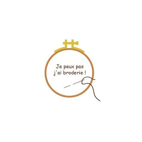 Broderie Grilles Gratuites by Grille Broderie Gratuite Je Peux Pas J Ai Broderie
