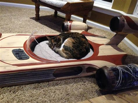 star wars dog bed may the force be with your kitty in this star wars