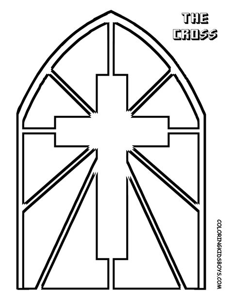 stained glass window templates printable stained glass window coloring page 343935