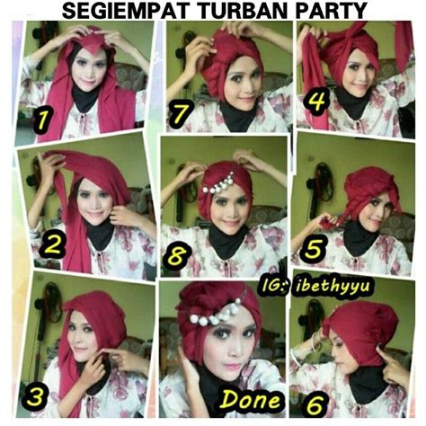 tutorial hijab paris segitiga turban 25 best ideas about tutorial hijab segitiga on pinterest
