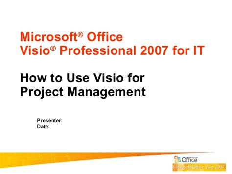 how to use microsoft visio 2007 microsoft visio professional 2007 o contents contributed