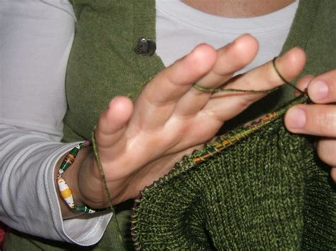 how to hold yarn for knitting do you knit like miss marple creating ruth