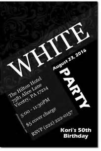 all white theme party invitations quotes