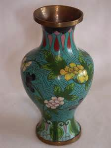Chinese Cloisonne Vase Pair Baluster Shape Cloisonne Vases For Sale Antiques
