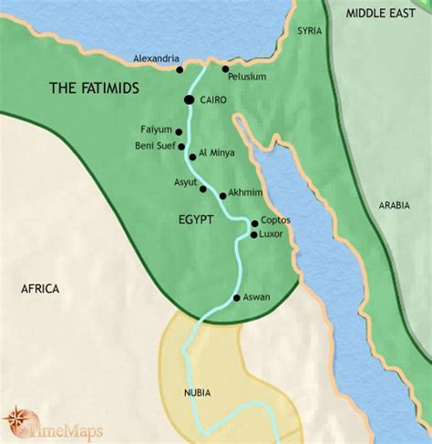 middle east map lake nasser map showing ancient history at the time of the great