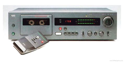 nad cassette deck nad 6100 manual monitor series cassette deck hifi engine