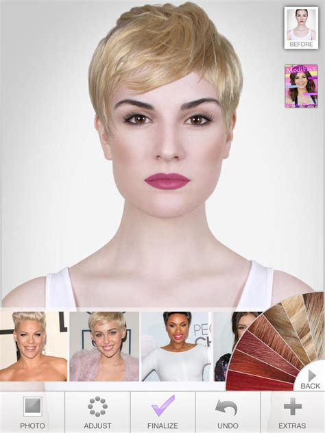 celebrity hairstyle vizualizer ultimate hairstyle try on ipad reviews at ipad quality index