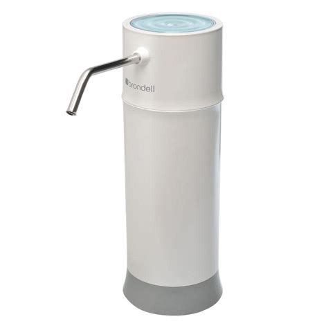 dupont chrome side sink counter top water filtration