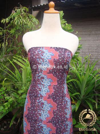 Kain Katun Jepang R 83 jual kain batik katun jepang motif bunga kontemporer pink ungu thebatik co id