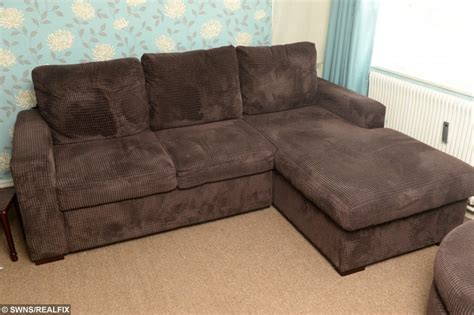 heavy use sofa bed 20 stone man claims he was told new sofa broke because he
