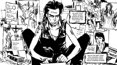 libro nick cave mercy on nick cave mercy on me graphic novel di reinhard kleist una vita da artista al limite della