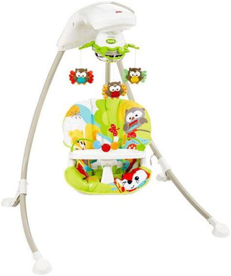 fisher price outdoor swing fisher price woodland friends cradle n swing walmart ca