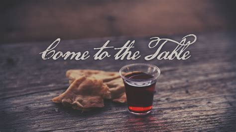 To The Table Come To The Table My Cms