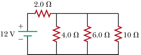 a 10 ohm resistor has a constant current what is the current through the battery shown below chegg