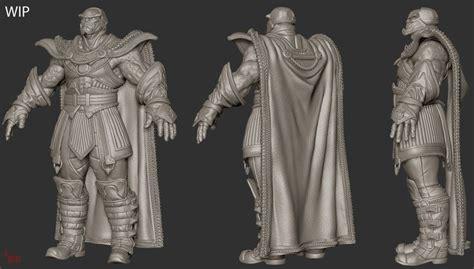 zbrush tutorial kickass comicon 2014 3d loraine howard iii the darkseid