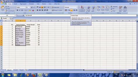 tutorial excel cara tutorial cara cepat belajar microsoft excel level 2