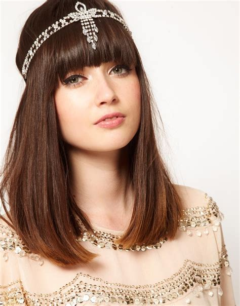 pictures great gatsby styles headpiece for women long comment porter headband avec frange
