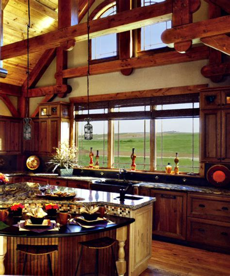 Post Kitchen by Post And Beam Kitchen Make For An Farm