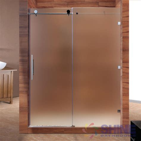 frameless bathroom doors frameless sliding shower doors lovable glass sliding