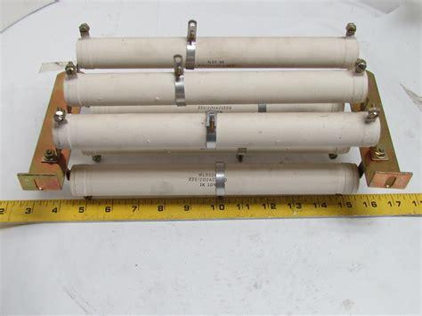 ceramic resistor holder ward leonard wl9224 ceramic resistor assembly 1k ohm 10 225 200ac1000 bullseye industrial sales