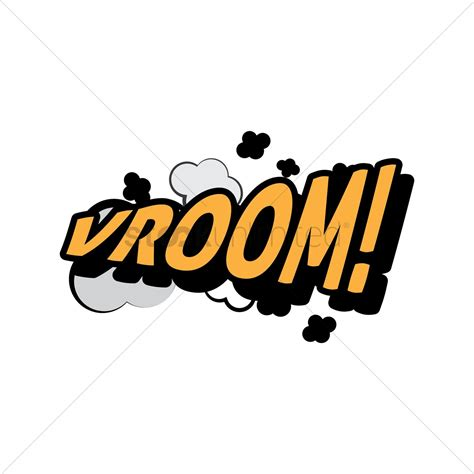 v room comic effect vroom vector image 1607420 stockunlimited