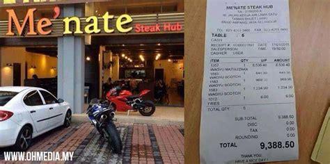 pendedahan kisah pemilik menate steak hub  jual