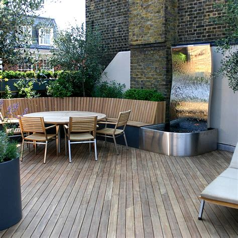 Terrasse Mit Dach by Roof Terraces Gardens By Contemporary Designers