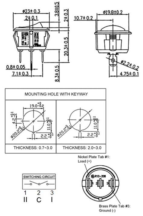 28 spdt rocker switch wiring diagram spdt rocker