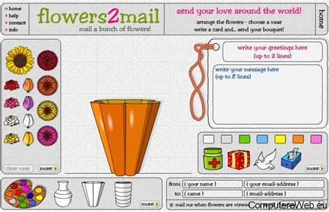 fiori virtuali inviare bouquet di fiori virtuali via e mail
