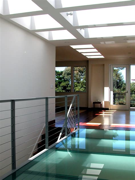 Glass Floor House by Uses For Glass In Interior Design