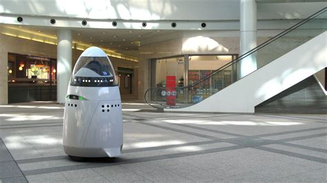 the knightscope k5 robot could replace some security